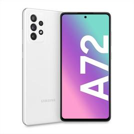 Samsung - Galaxy A72 - Awesome White